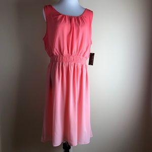 Kim Rodgers Sleeves Ombré Dress 1x